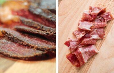 Cecina o jamón - cuál es la diferencia